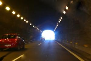 Tunnel-Licht