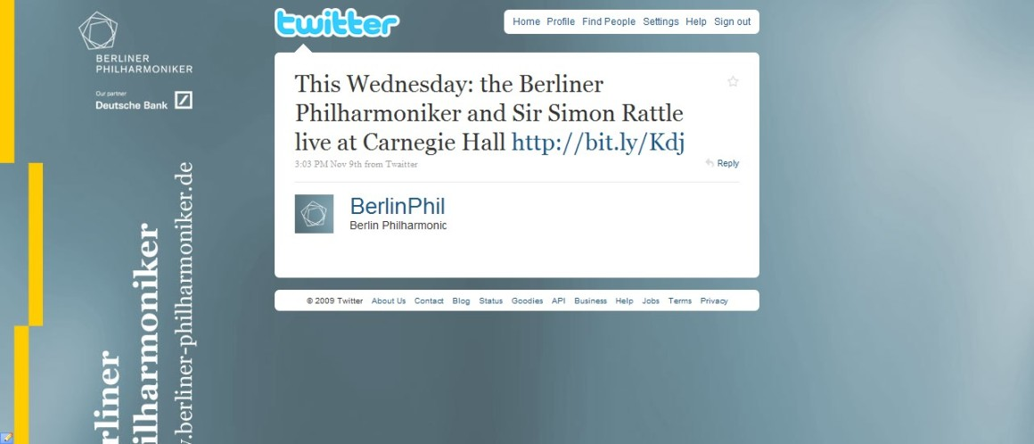 Berliner Philharmoniker (Twitter)