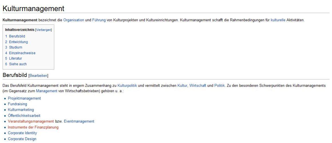 kulturmanagement auf wikipedia schlimmer geht es nicht mehr kulturmanagement blog. Black Bedroom Furniture Sets. Home Design Ideas