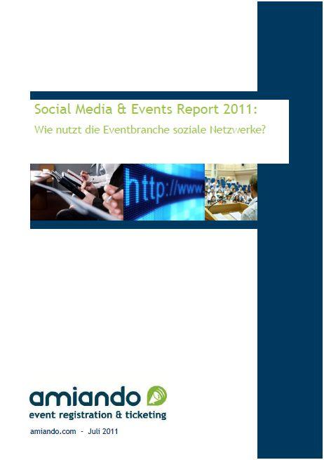Social Media & Events Report 2011