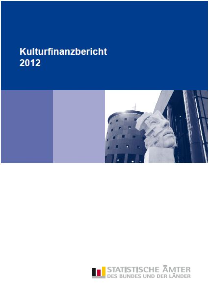 Kulturfinanzbericht 2012