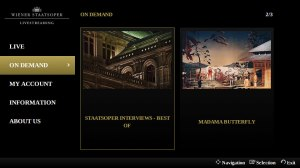 Wiener Staatsoper Livestreaming