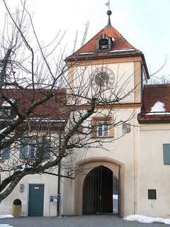Eingang Schloss Blutenburg