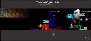 Screenshot eMagazin Theater Oberhausen
